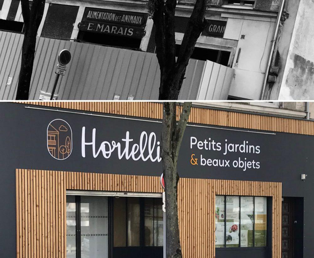 Boutique de plantes et conseils en jardinage Hortelli en centre ville d'Angers