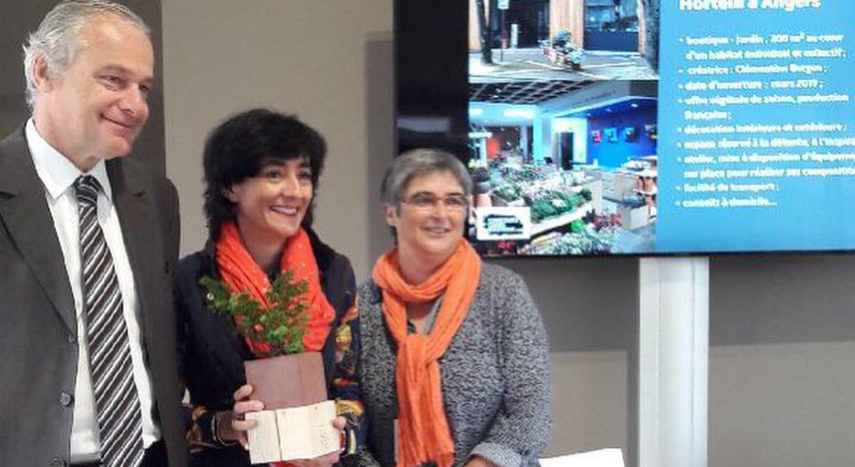 Prix de la green boutique 2019 pour le magasin de plantes Hortelli