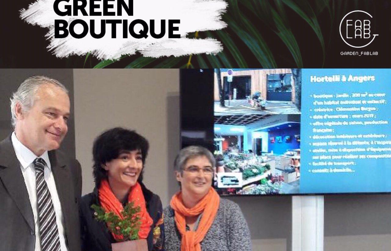 La jardinerie Hortelli Angers au concours de la green boutique