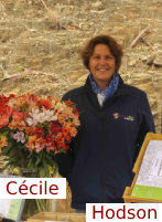 Cécile Hodson, productrice de plantes de qualité