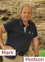 Mark Hodson, producteur de fleurs en pot angers
