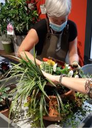atelier jardinières d'automne